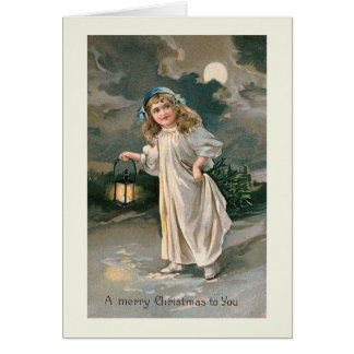 """Christmas Lantern"" Greeting Card"