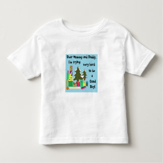 Christmas Letter Toddler T-Shirt