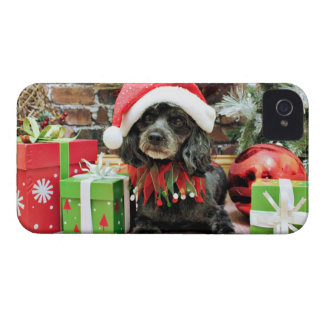 Christmas - LhasaPoo - Leo iPhone 4 Covers