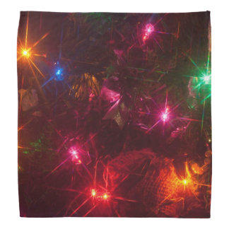 Christmas light bandanna
