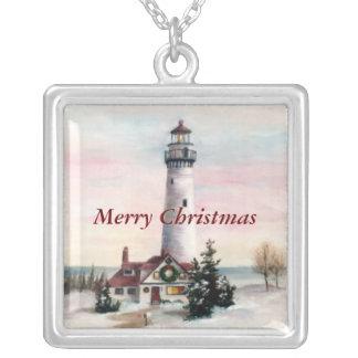 Christmas Light Christmas Necklace