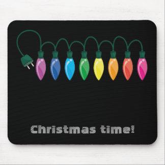 Christmas light , Christmas time! Mouse Pad