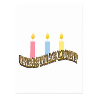 Christmas Light. Post Card