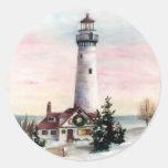 Christmas Light Sticker
