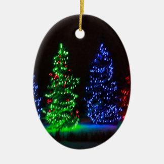 CHRISTMAS LIGHTS 1 CHRISTMAS TREE ORNAMENT