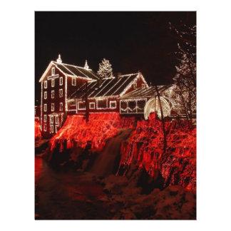 christmas lights 21.5 cm x 28 cm flyer