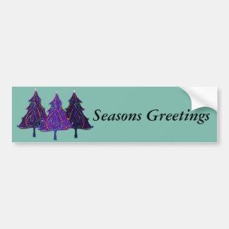 Christmas Lights Bumper Sticker
