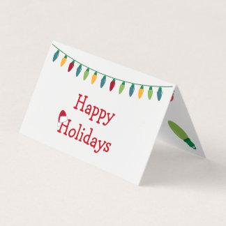 Christmas Lights Card #HolidayZ