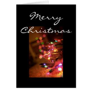Christmas Lights [Christmas Card] Greeting Card