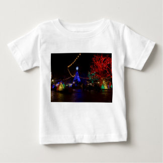 Christmas Lights Galore Baby T-Shirt