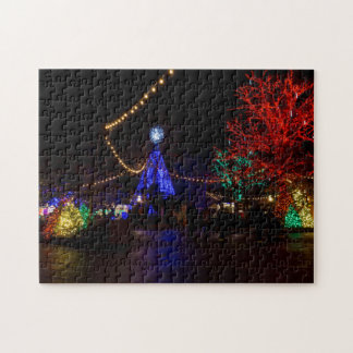 Christmas Lights Galore Jigsaw Puzzle