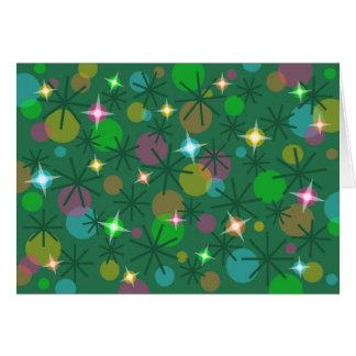 Christmas Lights Merry Christmas card