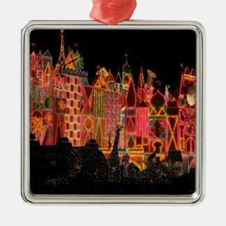 Christmas Lights on Tourist Attractions Ornament