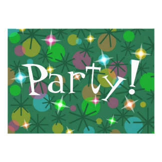 Christmas Lights Party invitation