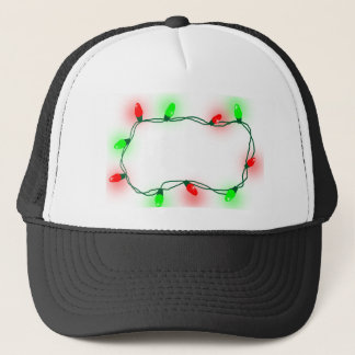 Christmas Lights Trucker Hat