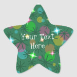 Christmas Lights 'Your Text' sticker star