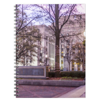 Christmas Linn Park Notebook