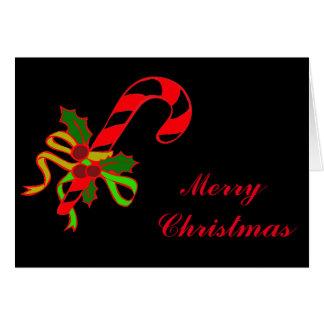 Christmas lollipop card
