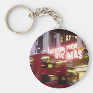 Christmas - London Destination Christmas Oxford St Key Ring