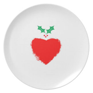 Christmas Love Party Plate