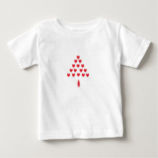 Christmas Love Tree Baby T-Shirt
