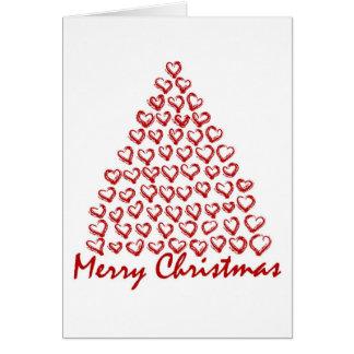 Christmas Love Tree Card