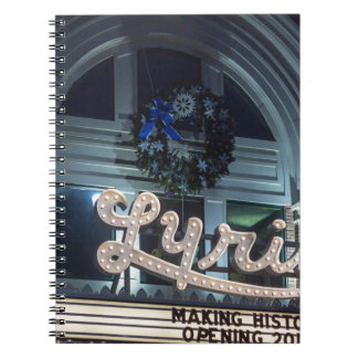 Christmas Lyric Notebook
