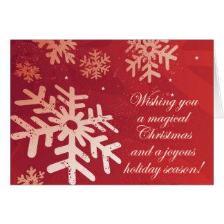 Christmas Magic Card