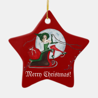 Christmas Magic Ceramic Ornament