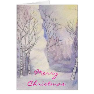 Christmas Magic Light Greeting Card