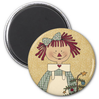 Christmas Magnets: Simple Joys Annie Magnet