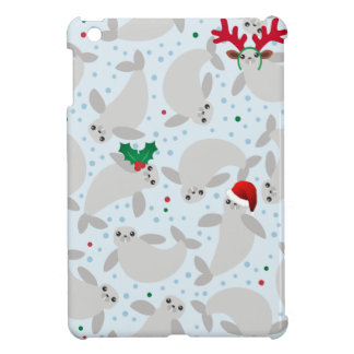 christmas manatee iPad mini covers