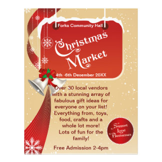 Christmas Market  Fair Business Flyer