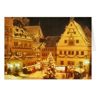 Christmas Market Germany Card