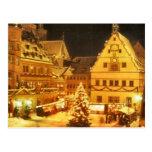 Christmas Market Germany Postcard