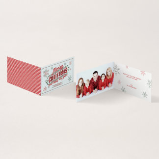 Christmas Marquee Folded Card