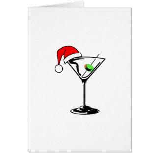 Christmas Martini Card