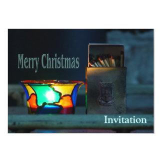 Christmas Matches 13 Cm X 18 Cm Invitation Card