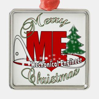 CHRISTMAS ME MECHANICAL ENGINEER METAL ORNAMENT