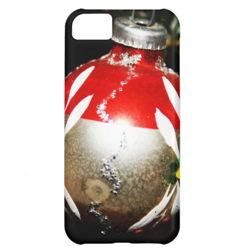 Christmas Merry Holiday Tree Ornaments celebration iPhone 5C Covers