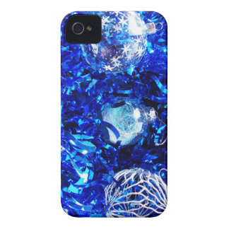 Christmas Merry Holiday Tree Ornaments celebration Case-Mate iPhone 4 Cases