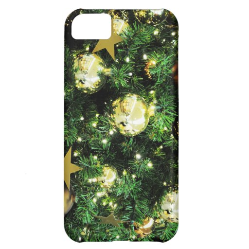 Christmas Merry Holiday Tree Ornaments celebration iPhone 5C Cover