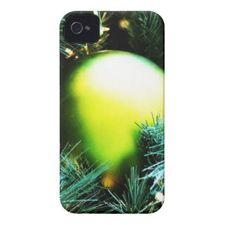 Christmas Merry Holiday Tree Ornaments celebration iPhone 4 Cover