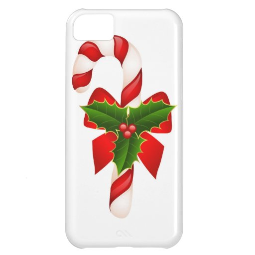 Christmas Merry Holiday Tree Ornaments celebration Cover For iPhone 5C