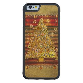 Christmas Metal Tree Maple iPhone 6 Bumper