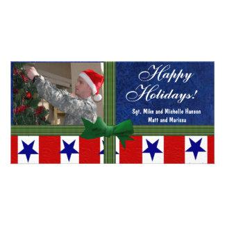 Christmas Military Photo Card