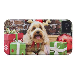 Christmas - Mini GoldenDoodle - Maggie Blackberry Bold Case
