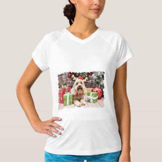 Christmas - Mini GoldenDoodle - Maggie Shirts