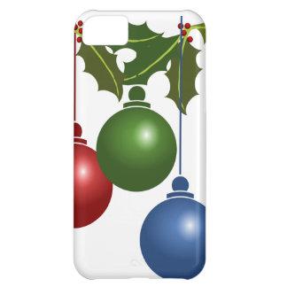 Christmas Mistletoe, Ornaments iPhone 5C Case