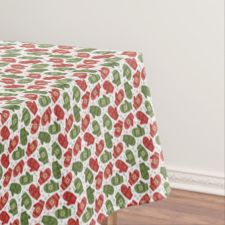 Christmas Mittens Tablecloth